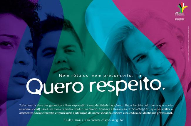 Cartaz da Visibilidade Trans (arte: Rafael Werkema / fotografia: Bruno Costa e Silva)