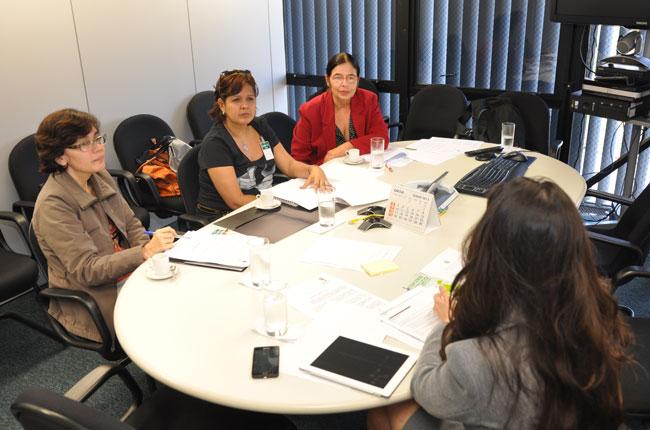 CFESS se reúne com juíza do Conselho Nacional de Justiça