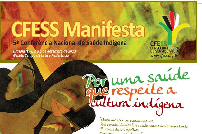 Recorte da arte do CFESS Manifesta (autor: Rafael Werkema)