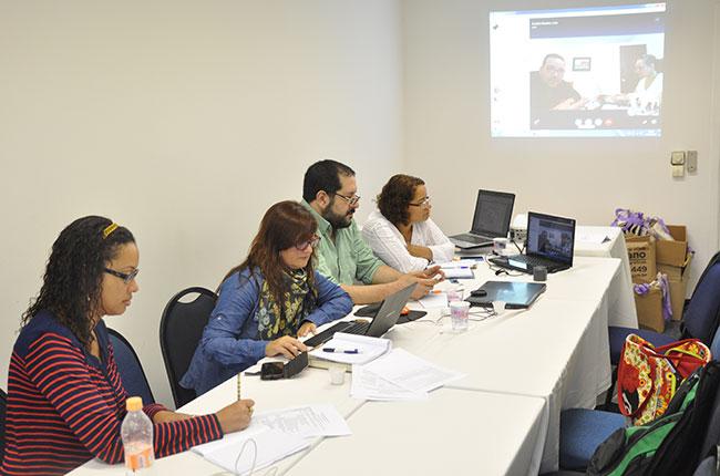 Imagem da reunião do Colacats em São Paulo