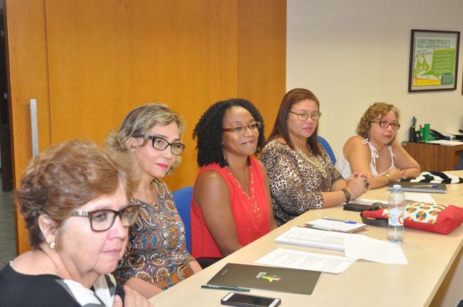 Imagem das integrantes da Comissão Especial 2017
