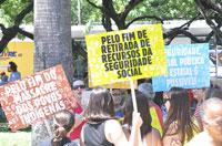 CFESS convida assistentes sociais para manifestações nos dias 22 e 29 de setembro