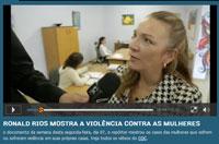 Violência contra a mulher é pauta do programa CQC, da TV Bandeirantes