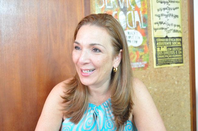 Assistente social Maria Elisa Braga (foto: Rafael Werkema)