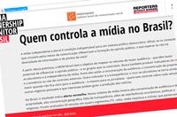 Você sabe quem controla a mídia no Brasil?
