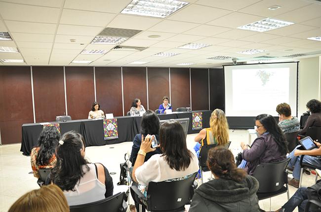 Foto do auditório onde ocorreu o evento, em Brasília (DF)