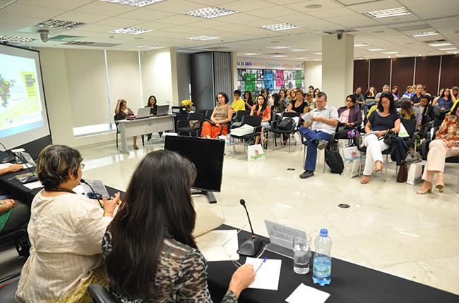 Foto da plateia que acompanhou o seminário