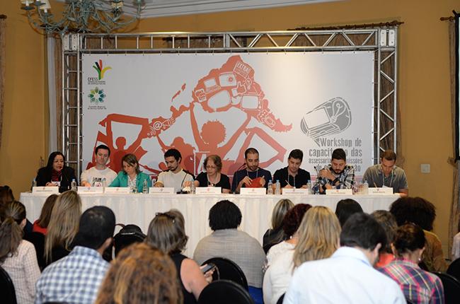 Imagem mostra integrantes do GT de reformulação da Política de Comunicação