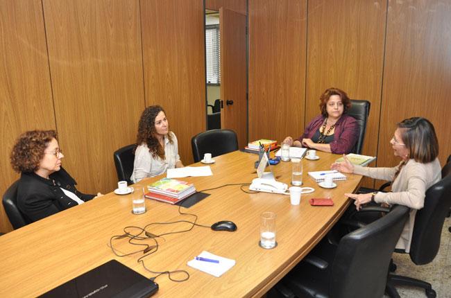 CFESS reunido com representantes do Ministério das Cidades para debater a inserção do serviço social na habitação