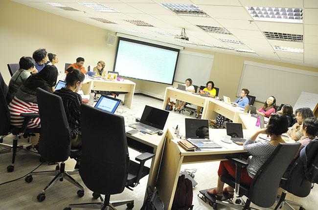 Imagem das conselheiras do CFESS reunidas para o Conselho Pleno de junho.