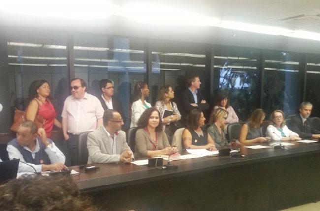 imagem do novo colegiado do CNAS