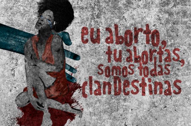 Imagem ilustrativa sobre a questão do aborto