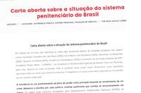 CFESS assina carta aberta sobre a situação do sistema prisional no Brasil