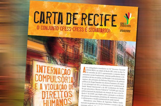 Imagem da Carta de Recife diagramada (arte: Rafael Werkema)