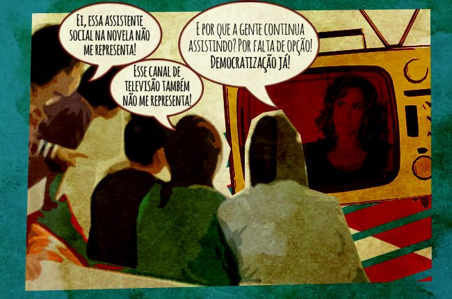 Imagem ilustrativa sobre a democratização da comunicação