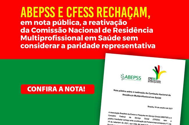 CFESS e ABEPSS pedem revogação de Portaria Interministerial