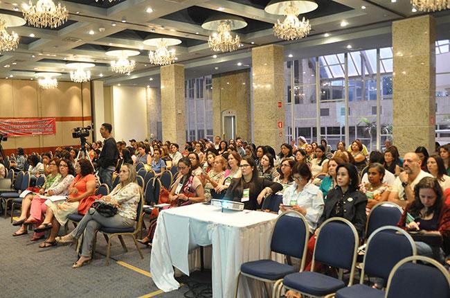 Público lotou o auditório nos dois dias de seminário