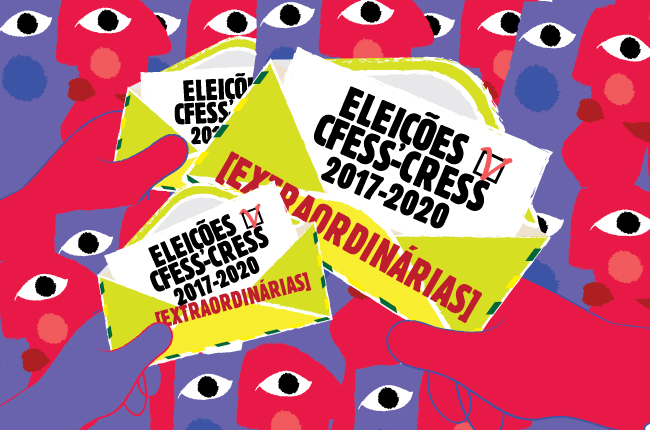 Imagem da arte elaborada para as eleições 2017-2020