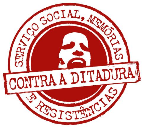 Imagem do selo criado para o projeto Serviço Social, memórias e resistências contra a ditadura