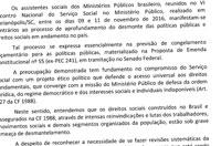 Assistentes sociais do Ministério Público dizem não à PEC 55/2016 e ao desmonte das políticas públicas