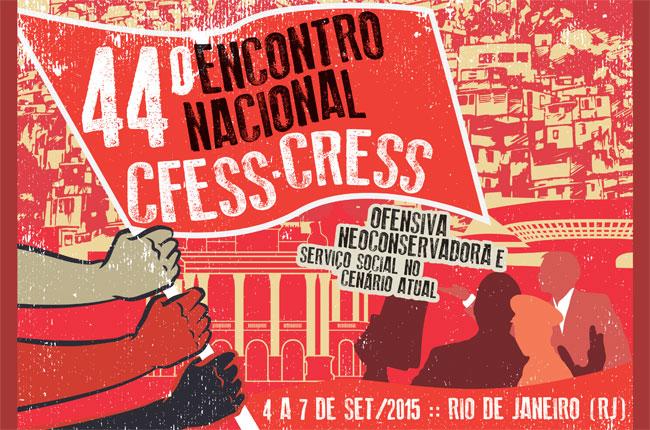 Arte do 44 Encontro Nacional CFESS-CRESS