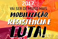 Um 2017 de mais mobilização, resistência e luta!