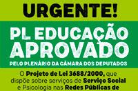 PL Educação é aprovado na Câmara dos Deputados e vai à sanção presidencial