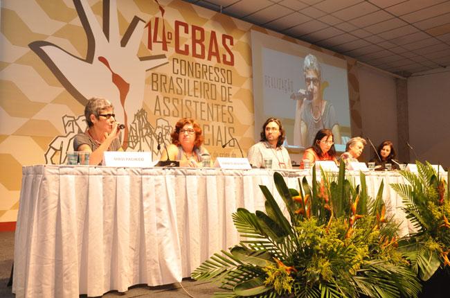 Plenária que discutiu assistência social trouxe debates importantes (foto: Diogo Adjuto)