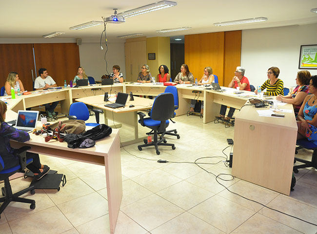 Imagem da reunião do Conselho Pleno do CFESS em março