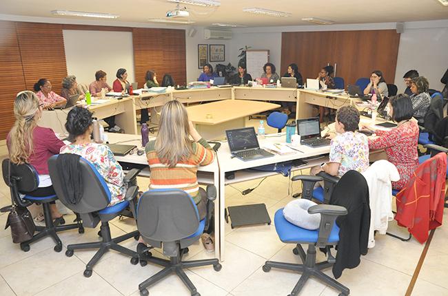 Imagem da reunião do Conselho Pleno do CFESS de julho
