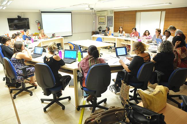 Imagem da segunda reunião do Conselho Pleno da nova gestão do CFESS