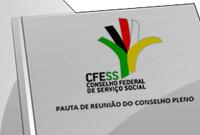 Conselho Pleno do CFESS recebe convidadas