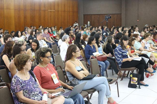 Imagem do público no segundo dia do evento