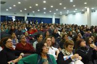 Relações Internacionais em pauta: CFESS participa de evento da FITS no Uruguai
