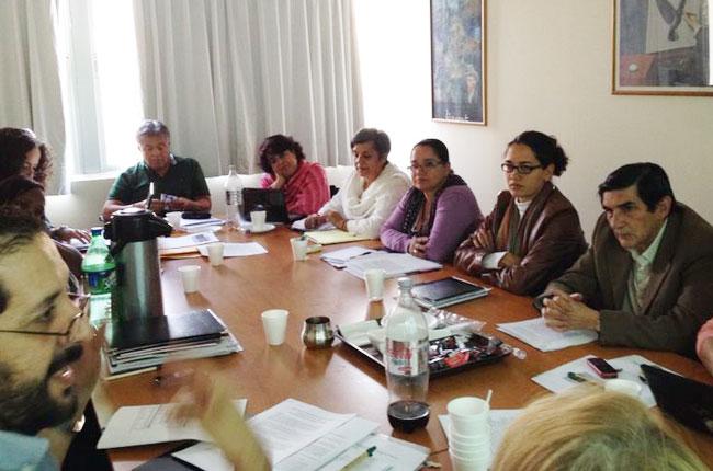 Imagem da reunião do Colacats no Chile