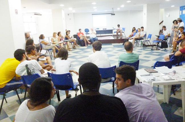 Grupo se reuniu no Rio de Janeiro (foto: CFESS)