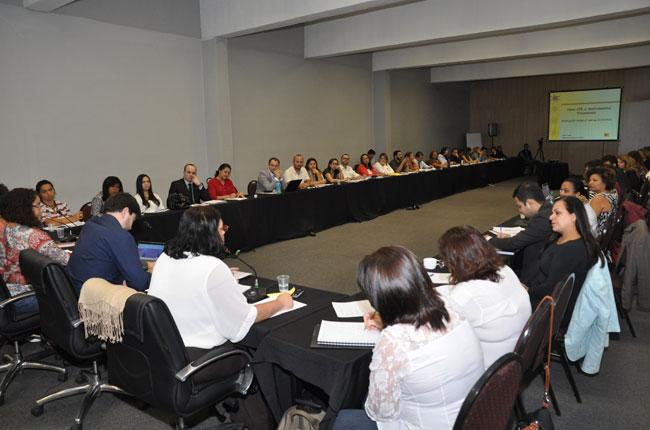 Imagem da reunião de assessorias jurídicas