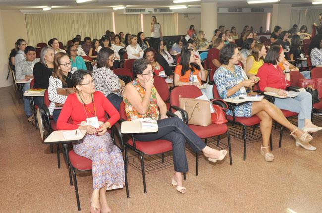 Imagem do público do seminário