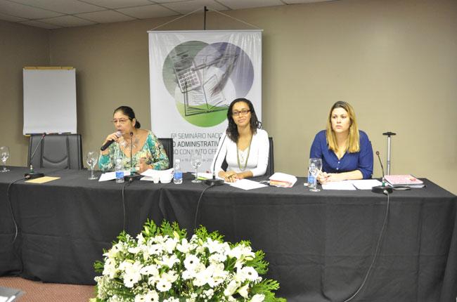 Uma das mesas debateu a gestão do trabalho no Conjunto CFESS-CRESS