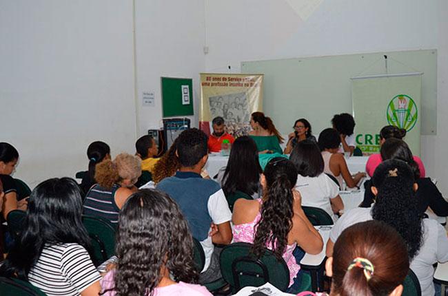 Imagem da atividade realizada pelo CRESS